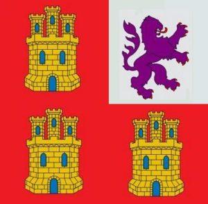 Bandera Pendón de San Fernando