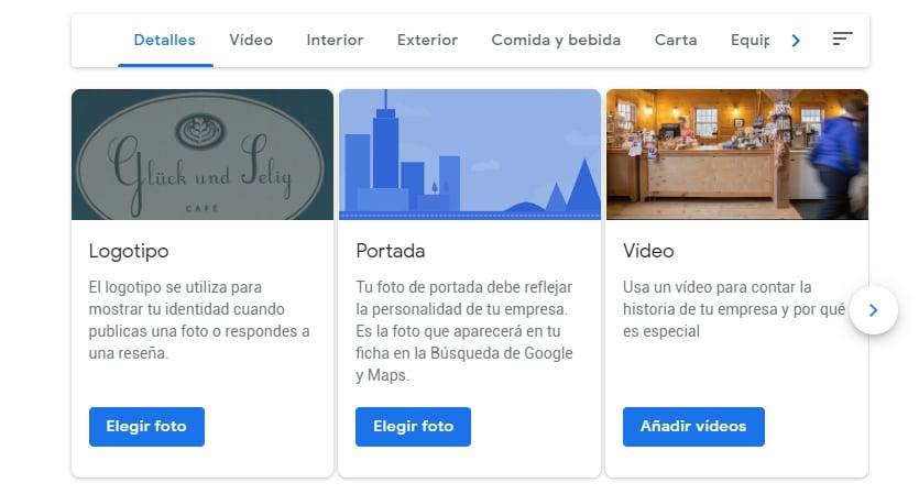 Fotos Google My Business