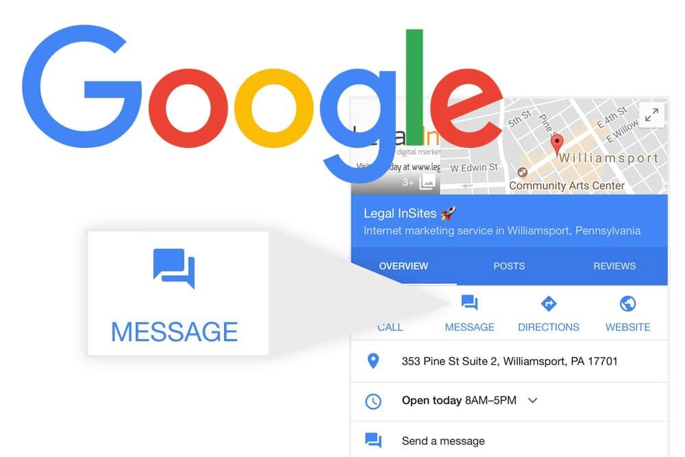 Mensajes Google My Business