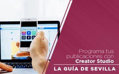 Programa tus publicaciones con Creator Studio