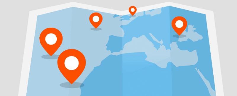 Redes sociales geolocalizacion
