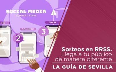 Llega a Nuevos Públicos mediante Sorteos en Redes Sociales